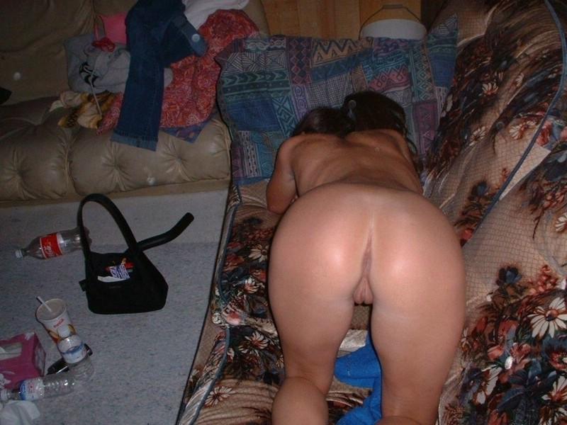20yr old busty girlfriend getting cum on her big boobs 7